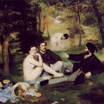 Eduard Manet, Luncheon on the Grass (via Wikipedia)