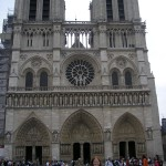 Photo of me in front of Notre Dame, taken by my friend Sept 2005