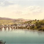 The real Bridge on the Drina, circa 1900